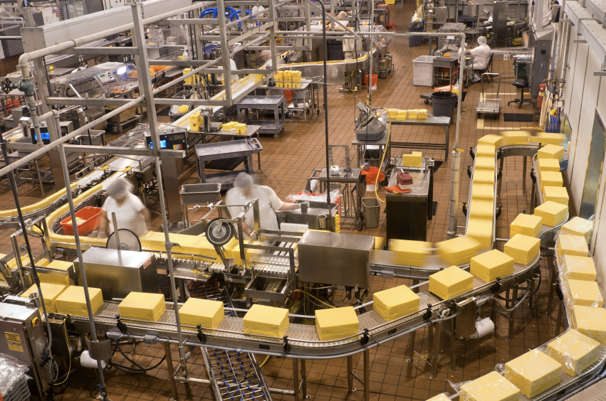 Food Processing Industry Drainage