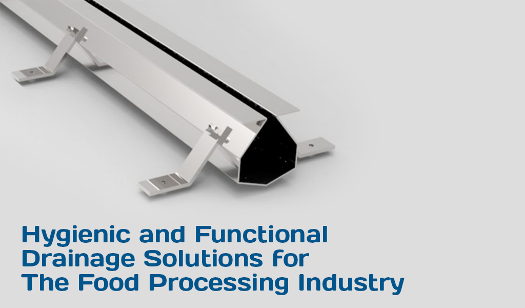 Drainage Solutions for The Food Processing Industry header
