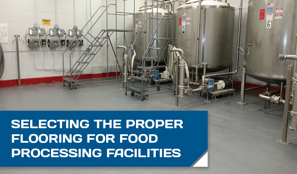 Flooring for Food Processing Facilities Header