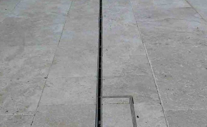 How To Install A Channel Drain In Existing Concrete