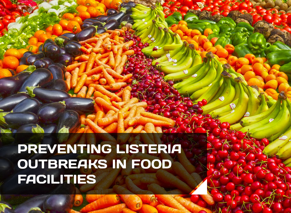 Preventing Listeria Outbreaks in Food Facilities Header