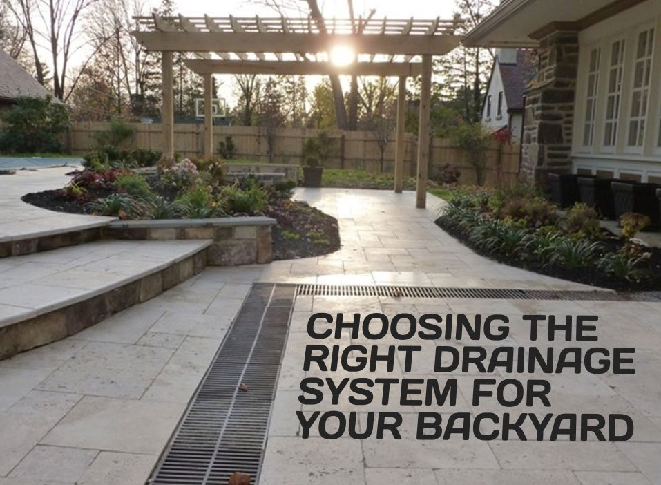 Backyard Drainage Design: Choosing the Right System for ...